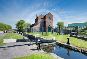 Titford Pump House, next to lock 1 on the Titford Canal