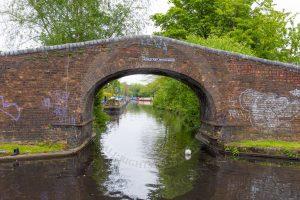 Hockley Port Junction Bridge, the entrance to the Birmingham Heath Branch