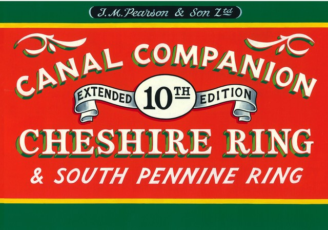 Canal Companions cover page for the Cheshire Ring