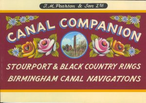 "Cover of the 2019 Edition of the Pearson Canal Companion ""Stourport & Black Country Rings, Birmingham Canal Navigations"""