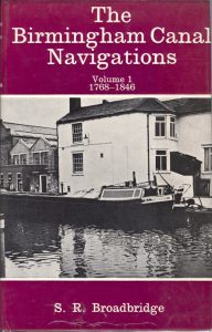"Cover of the book ""The Birmingham Canal Navigations, Volume 1, 1768-1846"" by S.R. Broadbridge"