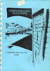 "Cover of the book ""Birmingham Canal Navigations - A Cruising and Walking Guide"""