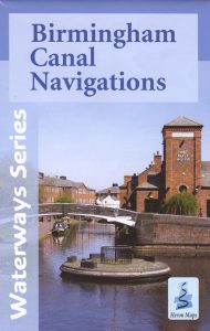 "Cover of the waterway map ""Birmingham Canal Navigations"""