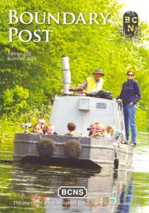 "Cover of The BCNS publication ""Boundary Post"", Edition 225"