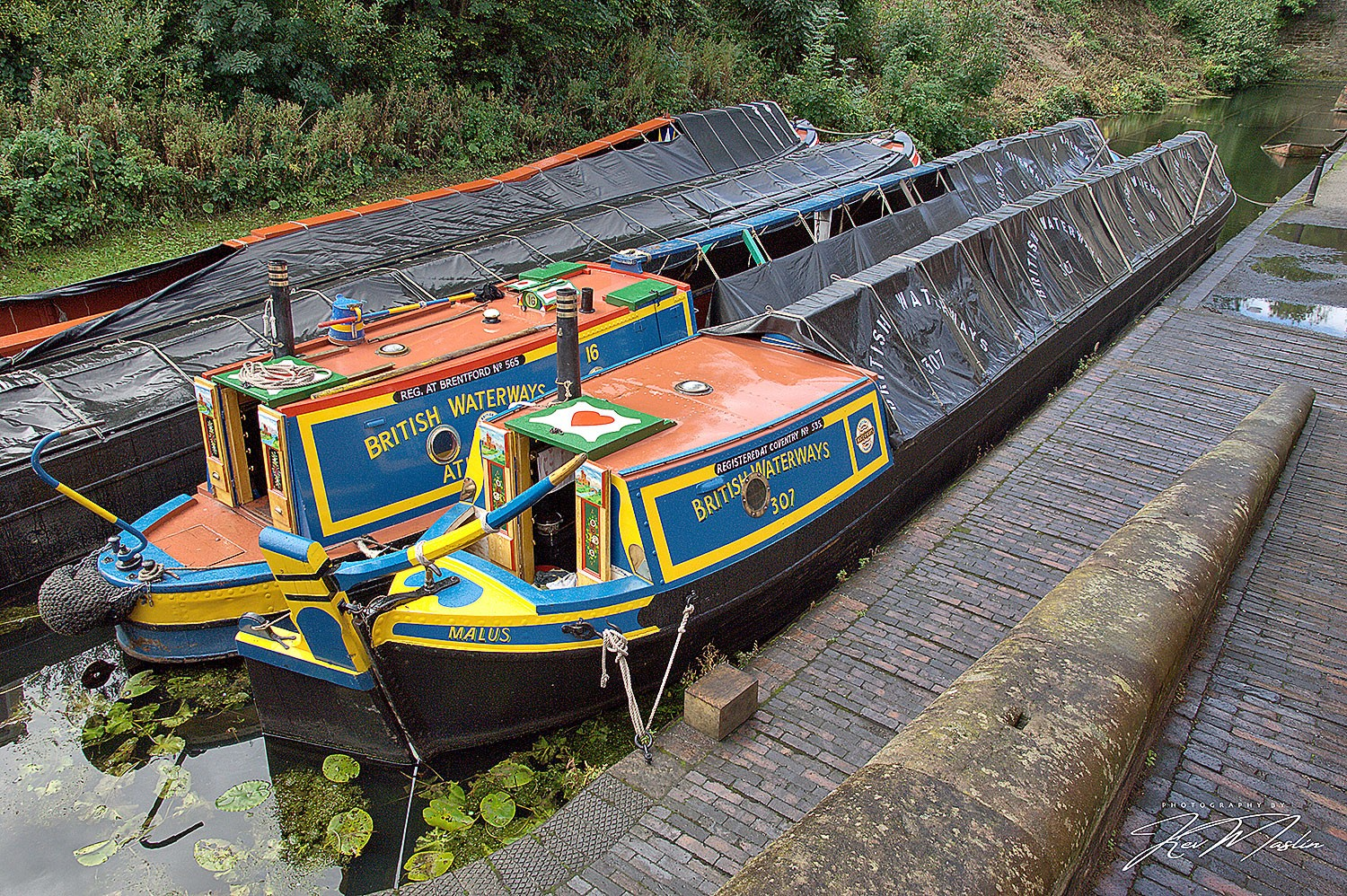 BCBS-owned historic workboat Atlas and Malus