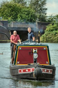 Narrowboat Governor on the BCN