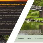 The BCNS website - old and new