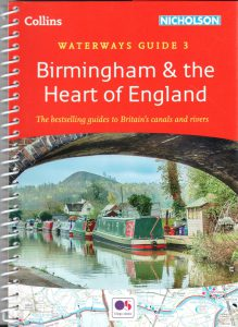 "Cover of Nicholson Waterways Guide 3 ""Birmingham & the Heart of England"""