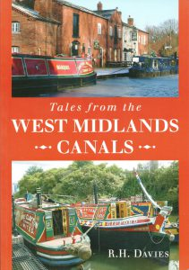 "Cover of ""Tales from the West Midlands Canals"" by R.H. Davies"