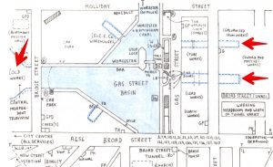 Gas Street Basin, scan from the IWA Blue Book
