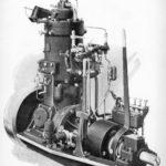 Historic Bolinder engine