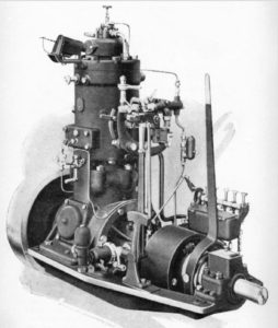 Historic Bolinder engine