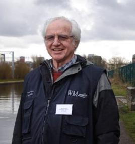 Revd Richard Alford, Senior Waterways Chaplain, West Midlands